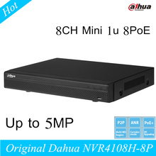2016 NEW CCTV Dahua NVR 8CH Network Video Recorder NVR4108H-8P 8 channel Support English and Onvif