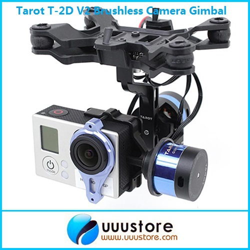 2014 New Tarot T-2D V2 Brushless Camera Gimbal ZYX22 Gyro TL68A00 For GoPro3 автоинструменты new design autocom cdp 2014 2 3in1 led ds150