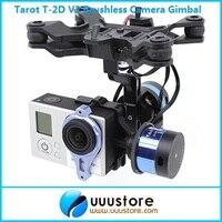 2014 New Tarot T-2D V2 Brushless Máy Ảnh Gimbal ZYX22 Gyro TL68A00 Cho GoPro3
