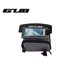 GUB 910 Saddle Bag For Bike Cycling Convenient Phone Cases Bike Accessories Front Bar Handlebar Bags Bicycles Cycling Bike Bag