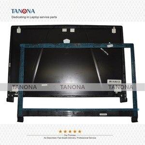 Image 1 - Оригинальный Новый чехол для ноутбука MSI GE73 GE73VR 7RF 006CN, чехол с ЖК экраном, задняя крышка, черная и передняя панель 3077C1A213HG017