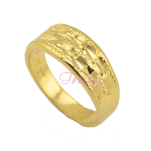 8mm Womens Mens S 18k Gold Filled Rings Carve Patterned Wedding Size 6 7