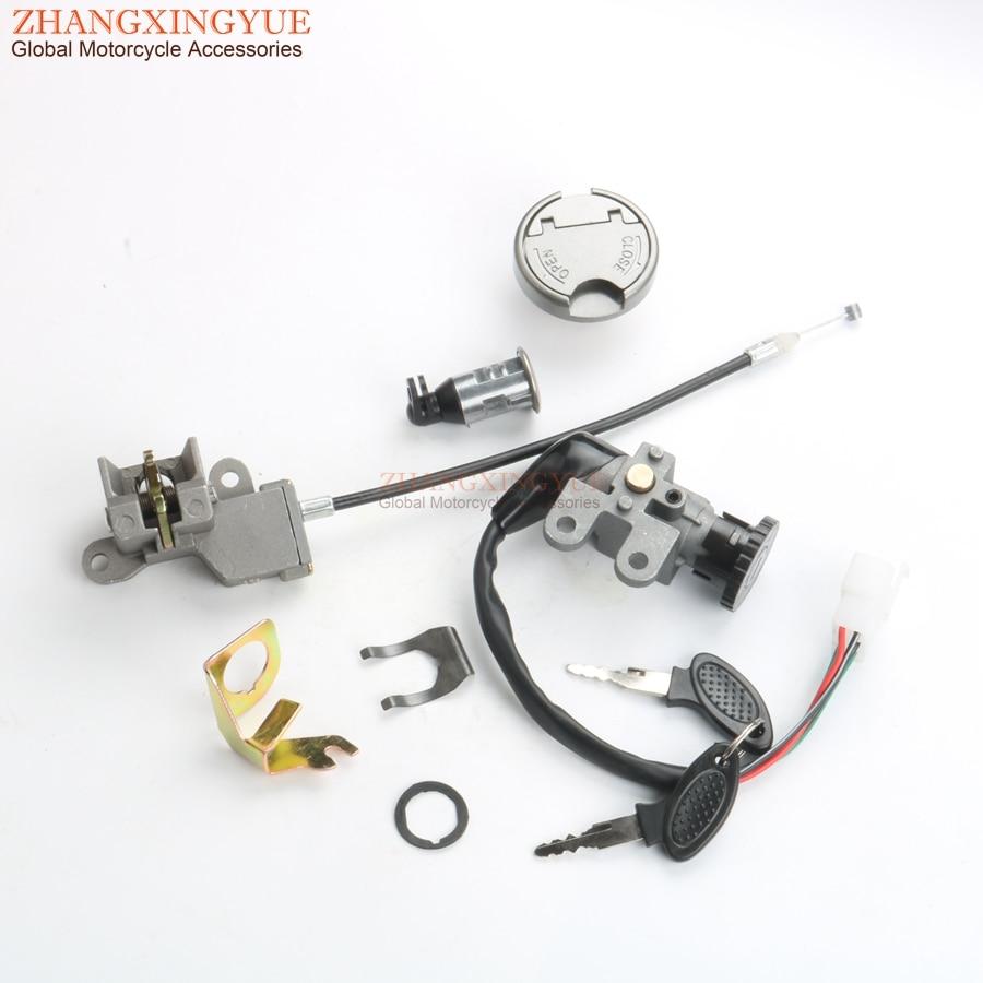 Baotian BT49QT-7 Spark Plug Cap 90° Angle