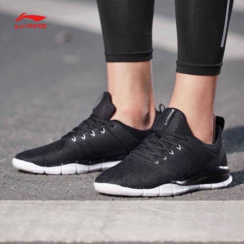 Li Ning Men SUPER TRAINER Training Shoes Light Weight Free Flexible LiNing Soft Comfort Sports Shoes