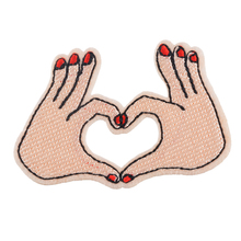Hoomall 1PC Embroidered Iron-On Patches Stickers For Clothes Jeans Badges Applique Applications Sewing Accessories(China (Mainland))