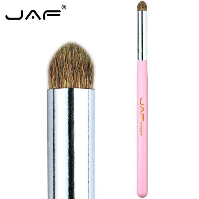 JAF 7pcs Makeup Brush Set High Quality Eyeshadow Eyebrow Eye Brushes Natural Animal Hair Make Up Brush Cosmetic Tool 25#701 4