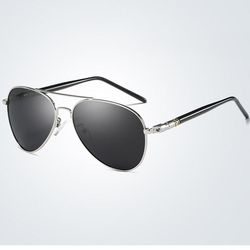 Aliexpress.com  Compre QIFENG Piloto Polarizada Óculos De Sol Dos Homens  Marca de Moda Motorista Óculos de Sol Da Aviação Para UV400 Masculino Pesca  ... 4ac24864bd