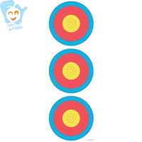 5pcs Per Lot Shooting Paper Target Archery Tag Equipment Outdoor Fun Sports Game