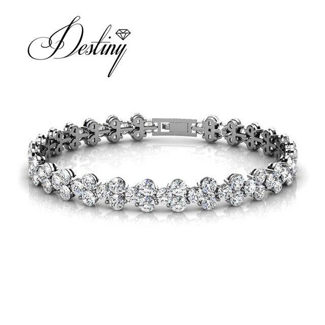 Destiny Jewellery Embellished With Crystals From Swarovski Bracelet Princess Db0033