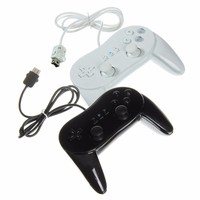 New Classic Dual Analog Wired Game Controller Pro For Nintendo Wii Remote Double Shock Game Controller
