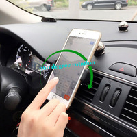 Smart Phone Holder Used For Car Truck Air Conditioning Outlet Silicone Stand For IPhone Samsung Less