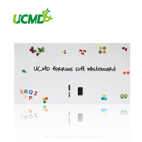 Message Board Memo Pad Ferrous Rubber Flexible Blank White Sheet Whiteboards for Wall 150 cm x 100 cm x 0.65 mm