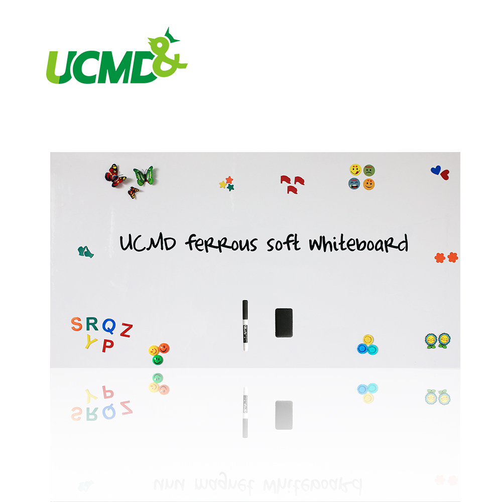 Office School Flexible Whiteboard Wall Sticker Removable Vinyl Draw Erasable Graffiti Learning Teaching Message Reminder Board