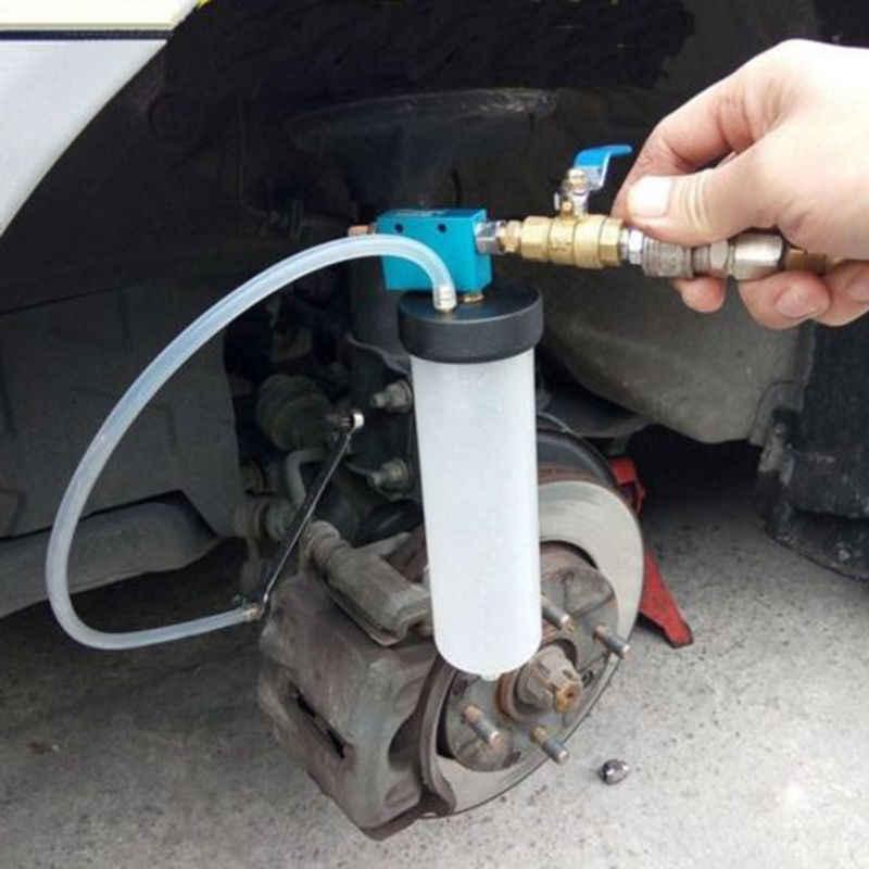 Auto voiture frein liquide changement d'huile outil de remplacement embrayage hydraulique pompe à huile purgeur d'huile vide échange vidangé Kit 5