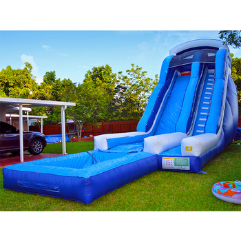 China manufacturers selling inflatable water slide ,inflatable slide with pool inflatable bouncer combo