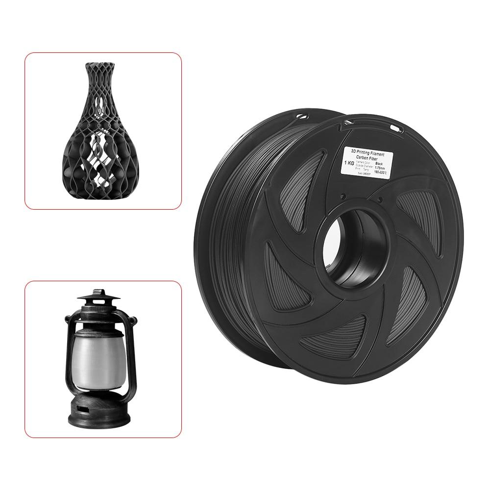 3D Printer Filament High Heat resistant Carbon Fiber With Degradable PLA 3D Printing Material 1 75mm