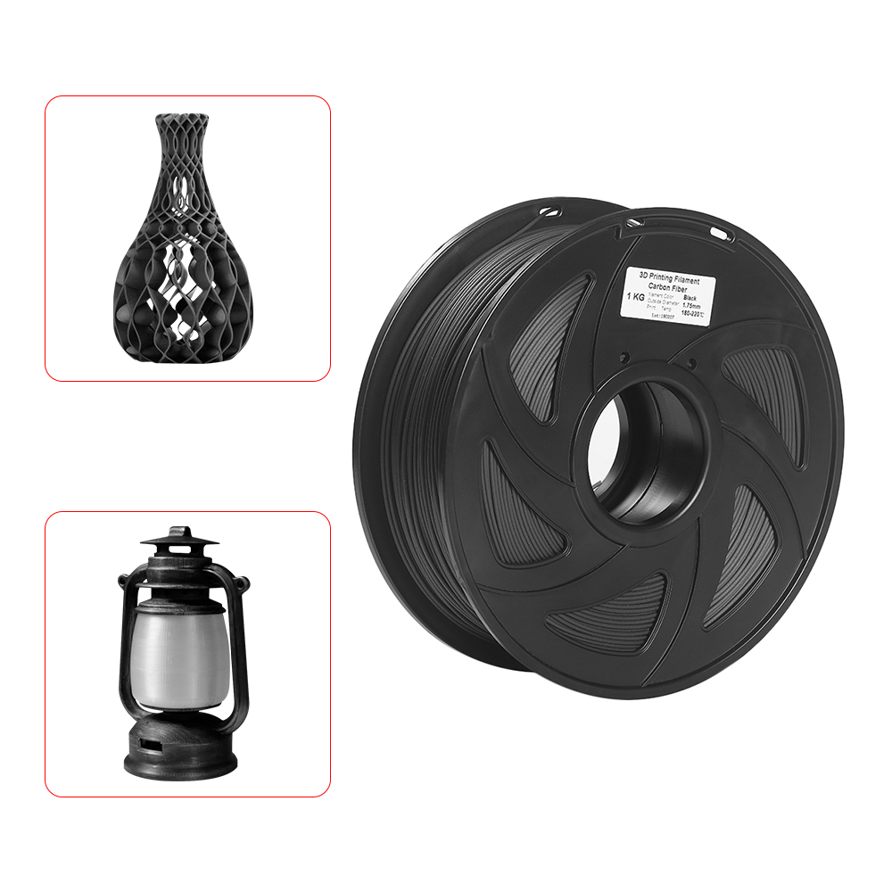 3D Printer Filament High Heat resistant Carbon Fiber With Degradable PLA 3D Printing Material 1.75mm 1kg Spool-in 3D Printing Materials from Computer & Office    1