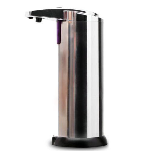 IMC Hot Automatic Stainless Steel Hands Free IR Sensor Soap Dispenser w/ Stand Best GIFT image