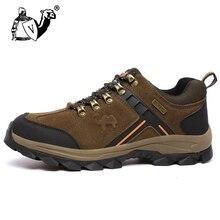 Восхождение Спортивная обувь Новинка 2017 года Для мужчин Mountain Треккинговые ботинки кожа Охота Сапоги и ботинки для девочек осень-зима Для мужчин S уличная спортивная обувь