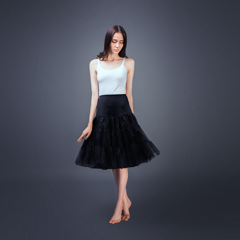 2020 Petticoat Underskirt Halloween Woman Petticoat Crinoline Bridal Petticoat Dance Rockabilly Lolita Plus Size Petticoat