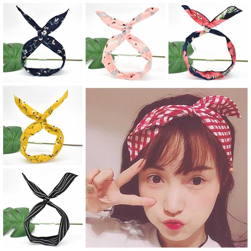Suede Soft Solid Headbands Vintage Cross Knot Elastic Hairband Hair bands For Women Girls Hair Accessories