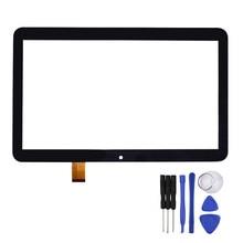 Nueva 10.1 Pulgadas Negro para RoverPad Aire Q10 3G Tablet A1031 Sensor Reemplazo de Cristal Del Panel Digitalizador con Herramientas de Reparación