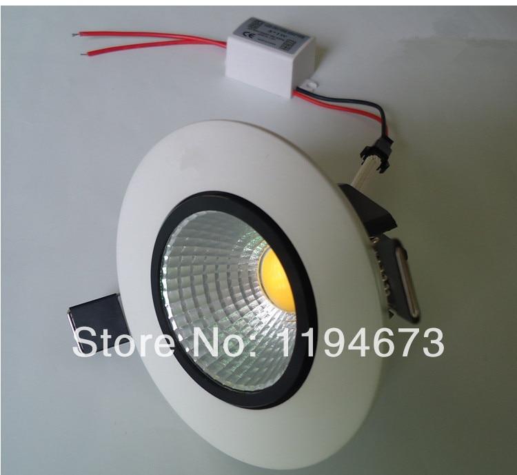 Бесплатная доставка 15 Вт COB Подпушка света холодный белый/теплый белый светодиод встраиваемые свет для гостиной освещения AC90-260V