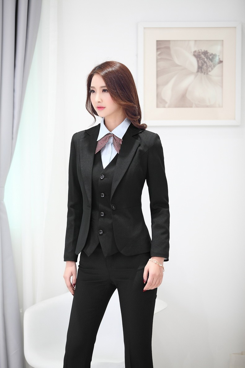 aliexpress com buy summer formal pant suits women business suits fashion women business suits skirt and vest waistcoat sets slim female work wear clothes ladies office uniform style olusd 29 70 set