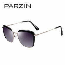 PARZIN New Women Sunglasses Elegant Lady Vintage Polarzied Sun Glasses For Driving Eyewear 2019