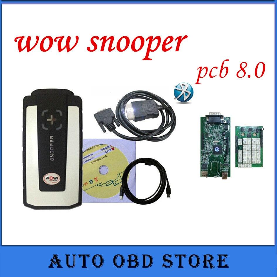 Prix pour NEC relais vert pcb WOW avec/sans bluetooth OBD2 outils de diagnostic voitures camions scanner bateau Libre