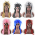 Africa Brazil wig Explosive head hairstyle Black long straight hair fluffy wig Fashion Party Performance