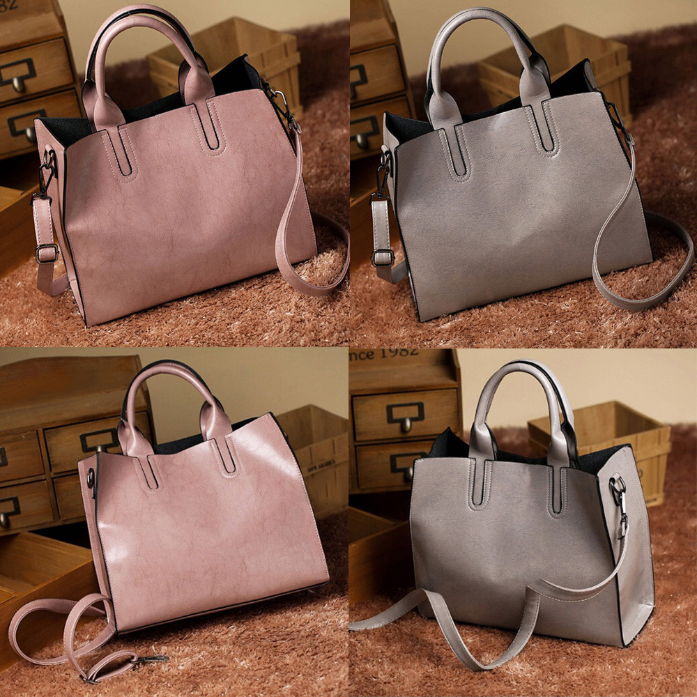 Aelicy Hot Sale Popular Fashion Brand Design Female Top-handle Bags PU Leather Soft Vintage Ladies Womens Purses And Hand Bags