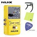 NUX Loop Core электрогитара эффект нажатия педали Looper 6 часовая запись прочные эффекты Педали компактные мощные аксессуары для гитары