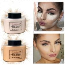 Glatte Lose Pulver Öl Kontrolle Make-Up Concealer Schönheit Highlighter Mineral Einstellung Pulver Banana maquiagem profissional TSLM2