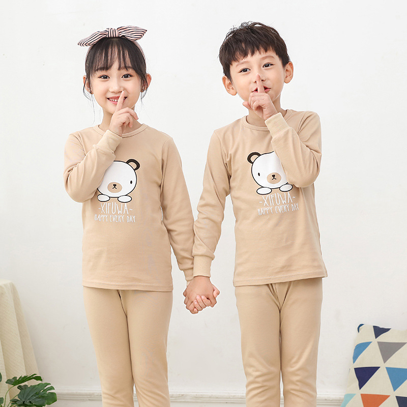 New Kids Boys Sleepwear Baby Girl Winter Cotton Sets Children Homewear Pajamas For Boy Pyjamas Kids Nightwear 2-13Y Teen Clothes