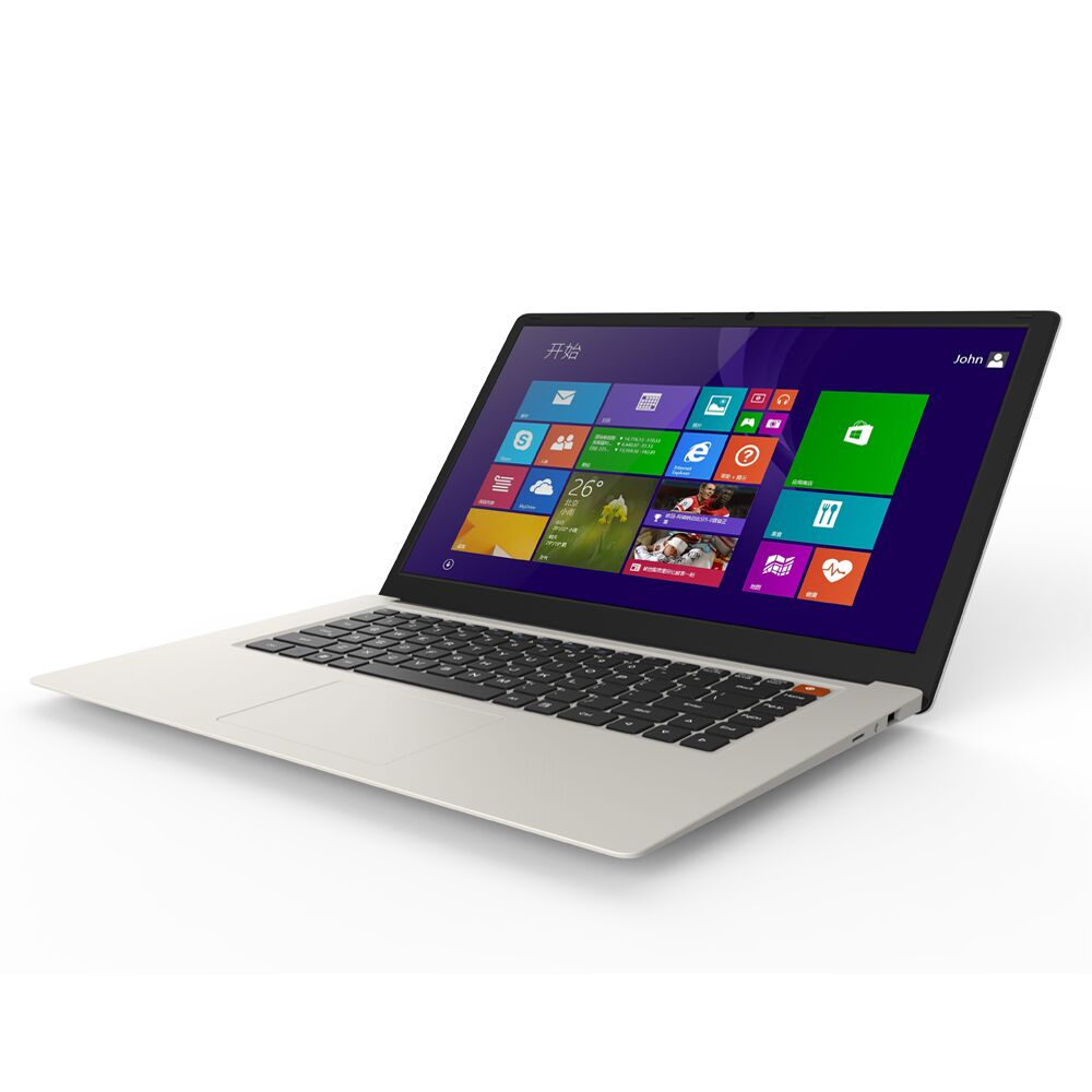 """15,6 """"laptop-computer Intel Atom X5-z8350 Quad Core 1,44 Ghz Netbook Mit 4 Gb Ram Emmc 64 Gb Bluetooth 10000 Mah Batterie Typ C Modischer (In) Stil;"""