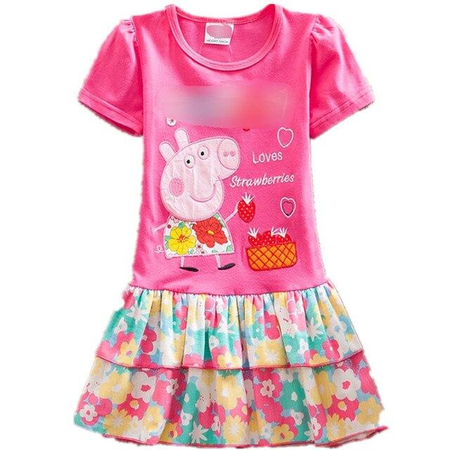 Verano al por menor de ropa de Bebé niña vestidos Encantadores niños ...