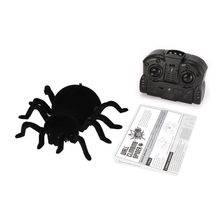 FY878 Infrared Remote Control Wall Climbing Realistic Spider RC Prank Insect Joke Scary Trick Toy Kid Gift Halloween Party(China)