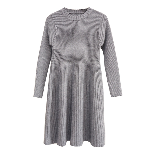 901aaf847fc 2018 New Maternity Clothes Fall And Winter Clothes Sweater Women Pregnancy  Plus Size Sweater Knitted Sweater Maternity Dresses