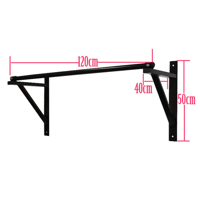 Chin Up Bar Crivit: Wall Mounted Chin Up Bar Sturdy And Steady Home Gym Pull
