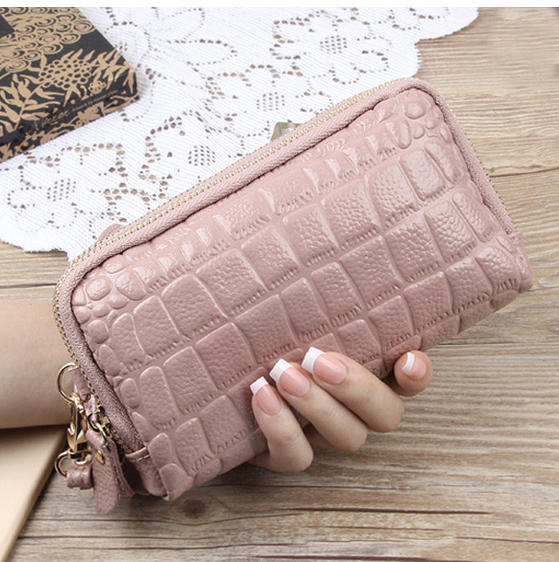 2017 Big Capacity Women Wallets Ladies Clutch Wallet Fashion Leather Bags ID Card Holders Cell Phone Cash Wallet Ladies Purses