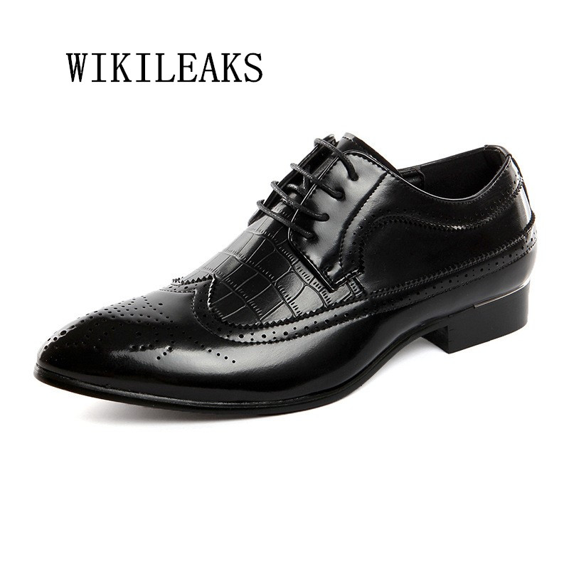 new men shoes oxford bullock leather shoes men wedding dress shoes zapatos hombre casual leather business shoes sapato masculino