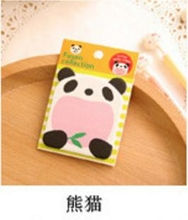 Cartoon  Stickers Bookmark Animal Shape Sticky Notes Sticker Marker Memo Notepad Gift Color