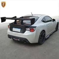 Real Carbon Fiber GT Wing Spoiler For Toyota Gt 86 Subaru brz V Style Rear Spoiler Professional Track Car Styling Accessories