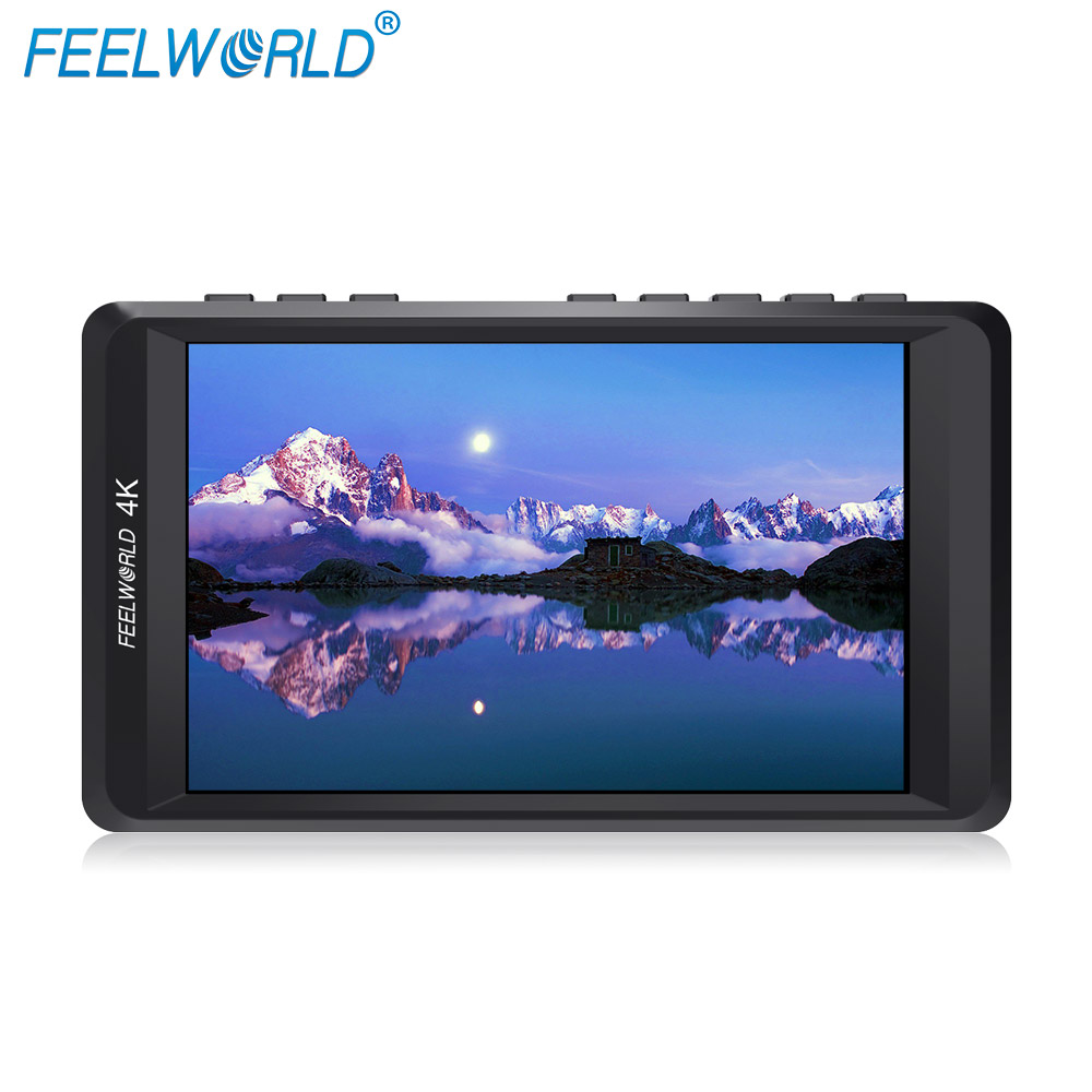 Feelworld F450 4.5 IPS 1280x800 HD 4K Camera Field Monitor with HDMI Input/Output 4K UHD Peaking Focus Check Field LCD Monitor f450 4 5 inch ips 1280x800 hd 4k field lcd camera monitor with hdmi input output uhd peaking focus and other monitor accessory