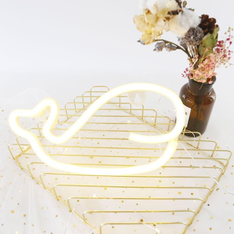 Купить с кэшбэком Neon Sign Light Star Unicorn Shape Design Room Wall Decorations Home Love Ornament Coffee Bar Mural Crafts Home Decor Lamp