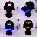 Luz LED Pokemon Ir Cap Hat Valor Instinto Místico Equipo Sombrero Gorras de Béisbol Ocasional