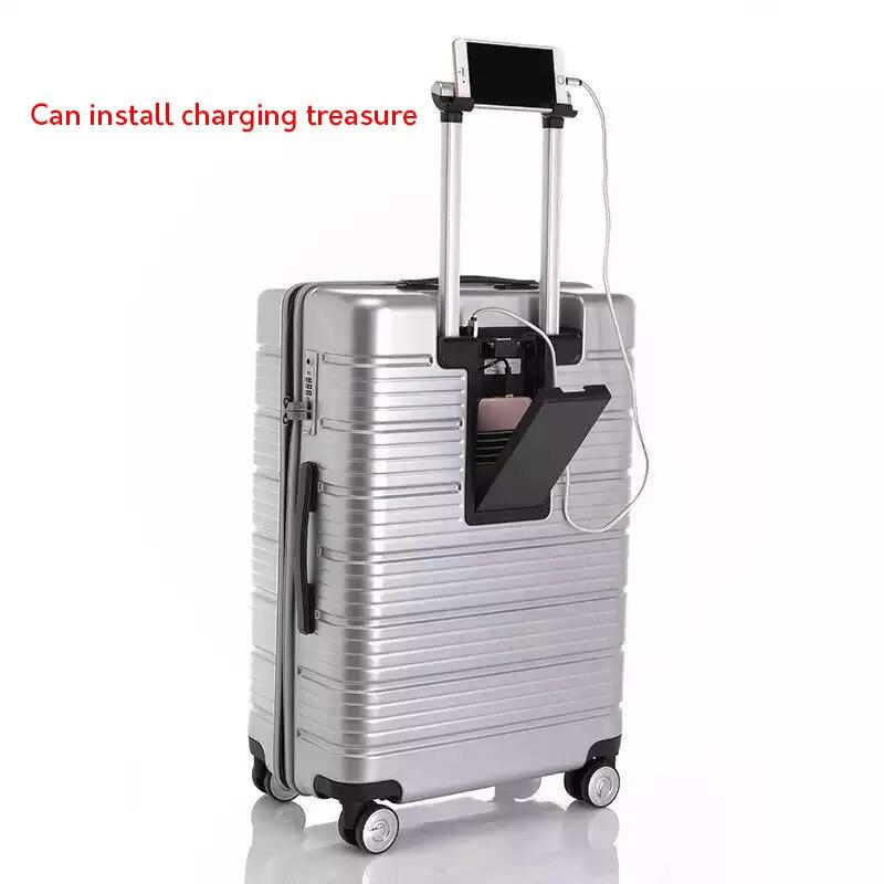 866ad541e Original design multi-function rolling luggage men women boarding travel  trolley case 20
