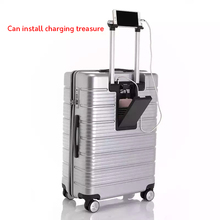 """Дизайн многофункциональный багаж на колёсиках для мужчин и женщин Дорожный чемодан-тележка 2"""" 24"""" 2"""" USB интерфейс зарядки чемодан"""