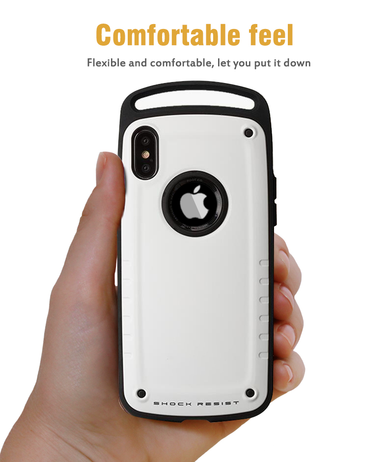 Comfortable and flexible phone case for iPhone X